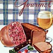 Gourmet Cover Featuring Bread Art Print
