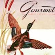 Gourmet Cover Of A Goose Art Print