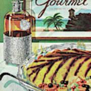 Gourmet Cover Of An Omelette Au Ruhm Art Print