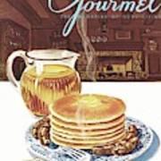 Gourmet Cover Of Pancakes Art Print