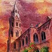 Government College Lahore Art Print