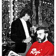 Governor Dan Evans Haircut Art Print