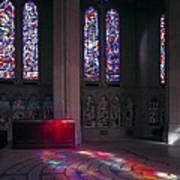 Grace Cathedral Walking Labyrinth - San Francisco Art Print