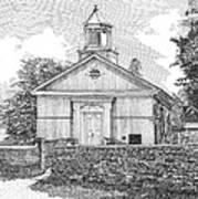 Grace Episcopal Church In Yorktown Virginia Art Print