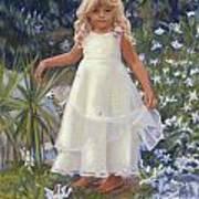 Grace In The Fairy Garden Art Print