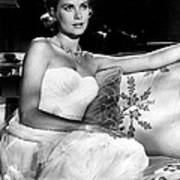 Grace Kelly Looking Gorgeous Art Print