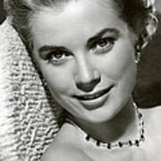 Grace Kelly Smiles Print by Retro Images Archive