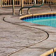 Gracious Curves Palm Springs Art Print