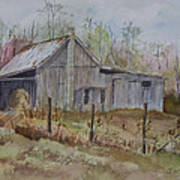 Grady's Barn Art Print