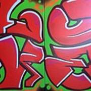 Graff Love Art Print