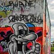 Graffiti 16 Art Print