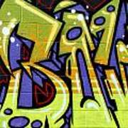 Graffiti 22 Art Print