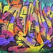 Graffiti 4 Art Print