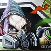 Graffiti Art Curitiba Brazil 18 Art Print by Bob Christopher