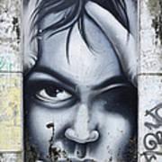 Graffiti Art Curitiba Brazil 2 Art Print