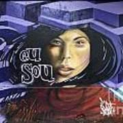 Graffiti Art Rio De Janeiro 3 Art Print