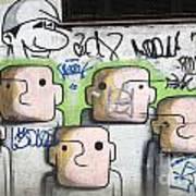 Graffiti Art Rio De Janeiro 5 Art Print