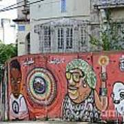 Graffiti In Salvador Art Print
