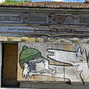 Graffiti In Veliko Tarnovo  Art Print