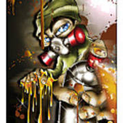 Graffiti Is An Addiction Art Print