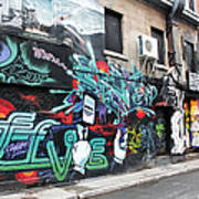 Graffiti Series 02 Art Print