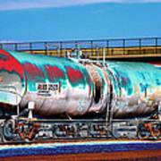 Graffiti - Toxic Tanker II Art Print