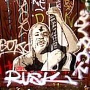 Grafiti Art Print by Sharon Costa