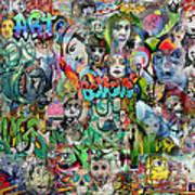 Grafitti Dream Art Print