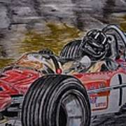 Graham Hill Mr Monaco Art Print