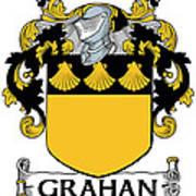 Grahan Coat Of Arms Irish Art Print