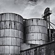 Grain Silos Art Print
