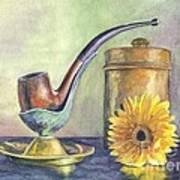 Grampas Pipe Art Print