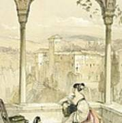Granada , Plate 9 From Sketches Art Print