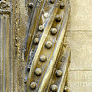 Granada Cathedral Doors And Other Details Art Print