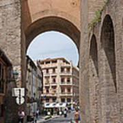 Granada Old City Gateway Art Print