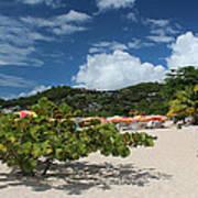 Grand Anse Beach - Grenada Art Print