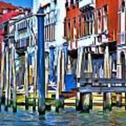 Grand Canal - Venice Art Print