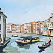 Grand Canal 2 Art Print