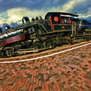Grand Canyon 29 Railway Art Print