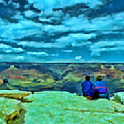 Grand Canyon # 7 - Hopi Point Art Print