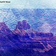 Grand Canyon As A Painting 2 Art Print
