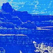 Grand Canyon Blues Art Print