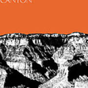 Grand Canyon - Coral Art Print