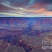 Grand Canyon Dusk Art Print by Mike  Dawson