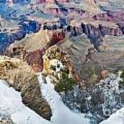 Grand Canyon In February Art Print