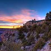 Grand Canyon Lodge Art Print