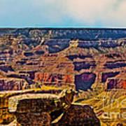 Grand Canyon Mather Viewpoint Art Print