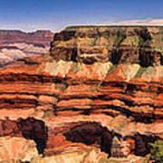 Grand Canyon Mesa Panorama Art Print