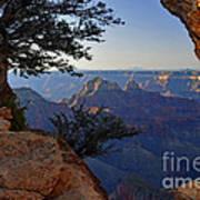 Grand Canyon National Park At Angels Point  Art Print