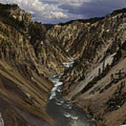 Grand Canyon Of The Yellowstone - 25x63 Art Print